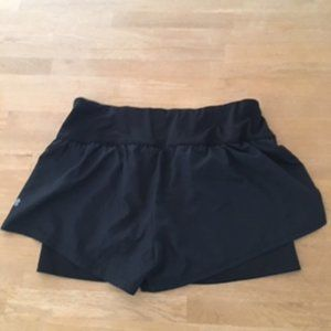 Champion Black Built in duo running Shorts ( NWOT)